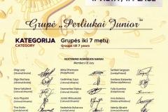 Vaikų popchoras PERLIUKAI JUNIOR_Muzikos talentų lyga II vieta