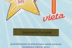 Vaikų popchoras SKAMBANTIS PERLIUKAS_ PAVASARIO FIESTA_1 VIETA