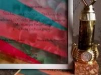 """Kėdainių kultūros centro vaikų popchoras PERLIUKAS iš regioninio konkurso """"Aukštaitijos perlai 2015"""" parsivežė II laipsnio diplomą ir taurę. 2015 12 05"""