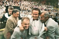 Padėka vadovui Vaclovui Šablevičiui Jurbarke Politinių kalinių ir tremtinių chorų respublikinėje Dainų šventėje, Jurbarke 1998.06.13.