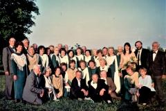 Bendra nuotrauka su vadovais A. Viesulu ir A. Nefaite-Poškiene 2005.06.14