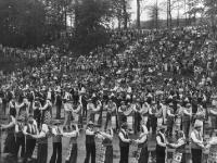 1979 m. zoninė dainų šventė. Pagyvenusiųjų žmonių liaudiškų šokių kolektyvų programa.