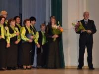 Chorą DIEMEDIS sveikina Kėdainių rajono savivaldybės meras Rimantas Diliūnas