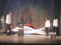 """Scena iš spektaklio """"Eglė – žalčių karalienė"""""""