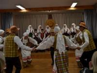 """Kėdainių rajono folkloro ansamblių šventė """"Gyva ir neišsenkanti versmė"""" Kalnaberžėje. 2013 11 24"""