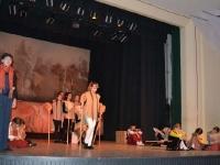 """Spektaklio vaikams """"Juodažvaigždis arkliukas"""" (pagal Jono Avyžiaus pasaką) premjera. Scenarijaus autorė ir režisierė G. Šaučiūnienė. Vaidina Kėdainių kultūros centro vaikų ir jaunimo teatro studija POLĖKIS. 2014 12 15"""
