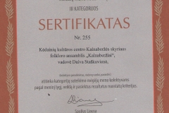 KAlnaberžių-sertifikatas