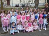 Kėdainių kultūros centro Nociūnų skyriaus vaikų popchoras SAPNAS (vadovė Daiva Makutienė)