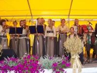 """Labūnavos liaudiškos muzikos kapela """"Barupė"""" (vadovas Algirdas Kučiauskas) """"Pirmojo pėdo – Šv. Onos"""" šventėje Labūnavoje, Kėdainių r."""