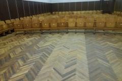 Labūnavos skyriaus salė žiūrovų dalis