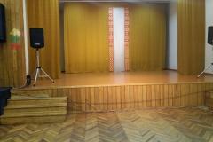 Labūnavos skyriaus salė scena