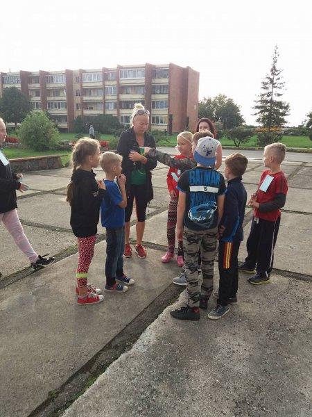 Vaikai ieško lobio