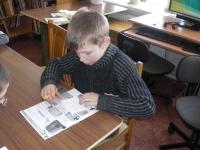 Pelėdnagių bibliotekoje. 2012 03 09