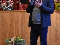 """Sakralinės muzikos koncertas """"Velykų stebuklas"""" Kėdainių kultūros centro Pelėdnagių skyriuje. 2017 04 14"""