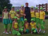 """Kėdainių kultūros centro mergaičių šiuolaikinio šokio grupė """"Mistika"""" (vadovė Žydrė Jasudavičienė)"""
