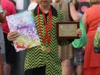 Kėdainių kultūros centro vaikų popchoro  PERLIUKAS solistas Kipras Makutis Tarptautiniame menų  festivalyje-konkurse SUMMER TALENT LEAGUE (Ispanija). 2017 06 15–22