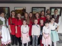 """Kėdainių kultūros centro vaikų popchoras PERLIUKAS (vadovė Daiva Makutienė) festivalyje """"Pavasario pasaka Tatruose"""" Novy Targo kultūros centre (Lenkija). 2016 04 15"""
