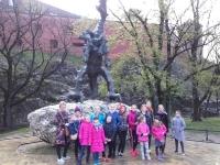 Kėdainių kultūros centro vaikų popchoro PERLIUKAS (vadovė Daiva Makutienė) nariai Lenkijoje. 2016 04 15