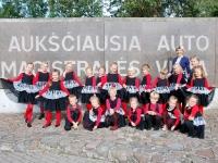 Kėdainių kultūros centro vaikų popchoro PERLIUKAS (vadovė Daiva Makutienė) 2 metų kūrybinės veiklos šventė Palangoje. 2015 09 26