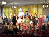 """Su """"Naisių vasaros teatro"""" aktoriais"""