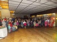 Kalėdų eglės įžiebimas Tiskūnuose. 2014 12 17