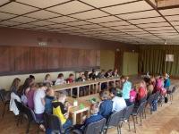 """Tęstinė vaikų vasaros stovykla """"Aš myliu kraštą, kuriame gimiau"""" Kėdainių kultūros centro Tiskūnų skyriuje. 2014 06  25–07 04"""