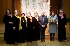 """2018 m. moterų vokalinis ansamblis """"Vaivorykštė"""" koncertavo Labunavos skyriuje rengiamuose renginiuose (2)"""