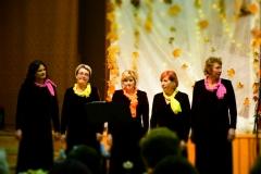 """2018 m. moterų vokalinis ansamblis """"Vaivorykštė"""" koncertavo Labunavos skyriuje rengiamuose renginiuose"""