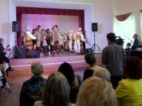 Kėdainių kultūros centro Vilainių skyriaus vyresniųjų liaudiškų šokių grupė VOLUNGĖ. Kėdainių kultūros centro mėgėjų meno kolektyvų koncertinė išvyka į III tarptautinį mažumų festivalį Tartu (Estija). 2015 04 25