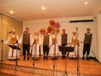 Kėdainių kultūros centro Vilainių skyriaus vyresniųjų liaudiškų šokių grupė VOLUNGĖ. Lančiūnavos moterų vokalinio ansamblio SVAJA kūrybinės veiklos 30-mečio šventė. 2014 12 06